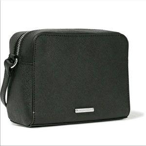 Rebecca Minkoff Avery Camera Bag Black Saffiano